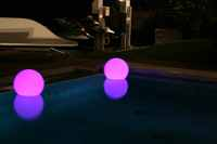 LED & SOLAR LIGHTS BUBBLE LED 3 PACK W/REMOTE