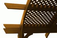 PERGOLAS Redwood Lattice Roof for SONOMA