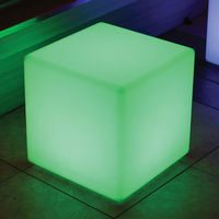 LED & SOLAR LIGHTS CUBE LED LAMP