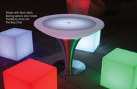 LED & SOLAR LIGHTS SOUTH BEACH LED LIGHTED TABLE
