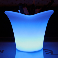 LED & SOLAR LIGHTS NAPA LED ICE BUCKET - MULTI-BOTTLE