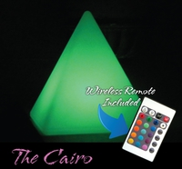 LED & SOLAR LIGHTS CAIRO LED PYRAMID LIGHT