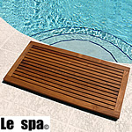 TEAK FURNITURE-MATS-TILES Le spa Teak Floor Mat