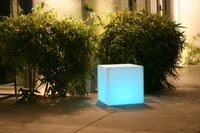 LED & SOLAR LIGHTS LARGE CUBE LED LIGHT