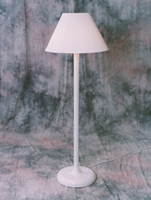 European FLOOR LAMP WITH TRADITIONAL SHADE